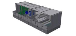 Centrala wentylacyjna z modułem gazowym kondensacyjnym
