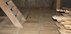 Strop drewniany - Izolacja stropu drewnianego