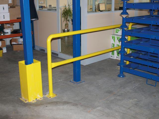 Zabezpieczanie przed manewrami wózków widłowych, czyli barierki ochronne