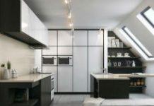 Kuchnia na poddaszu. Jak zaprojektować ją funkcjonalnie?