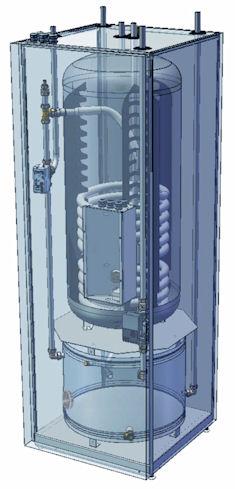 Zasobnik ciepłej wody współpracujący z pompami ciepła Aquarea