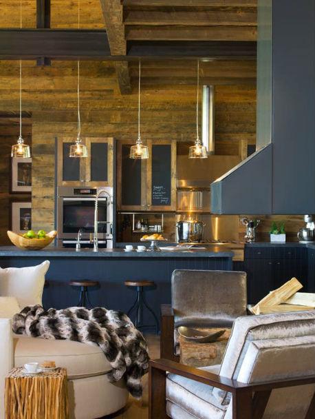 Fronty mebli kuchennych pomalowane farbą tablicową, fot.: Silfer Designs