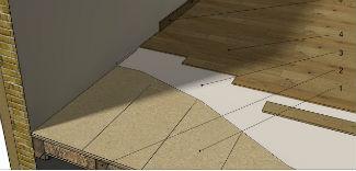 Remont starej podłogi z desek