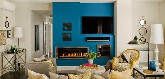 """Energetyczny niebieski """"Blue Paisley"""" – Kolorem Roku 2015 od Dekoral"""