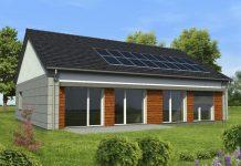 Dom zeroenergetyczny GREEN HOUSE - projekt przyszłości
