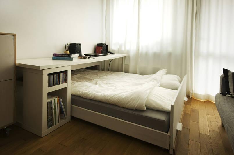 8 Fantastycznych Pomysłów Na Małą Sypialnię Lub Jej Brak
