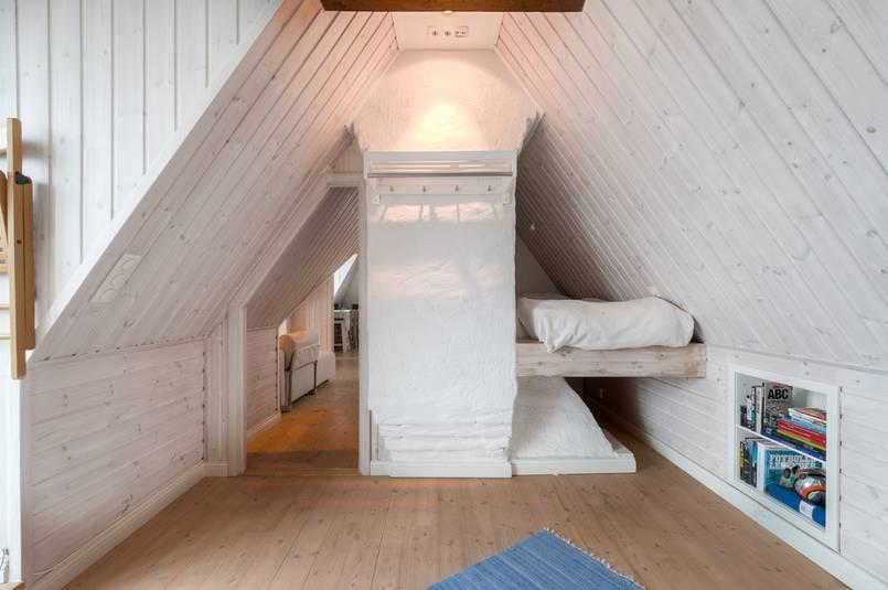 Sypialnia pod dachem