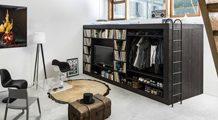 8 fantastycznych pomysłów na małą sypialnię… lub jej brak