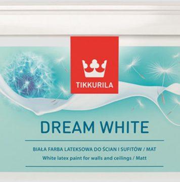 Tikkurila Dream White - wodorozcieńczalna farba lateksowa