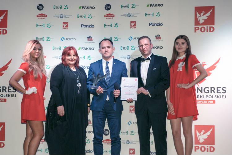Aveex for POiD VIII Kongres Stolarki Polskiej nagrody
