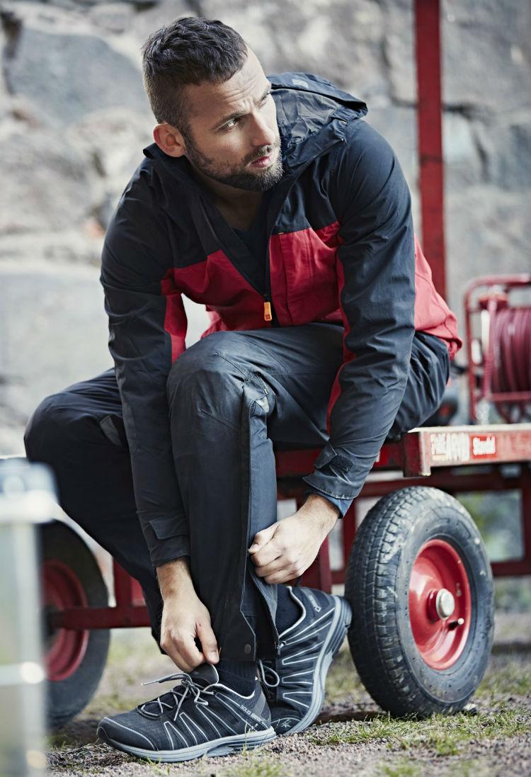 Snickers Workwear AllroundWork nieprzemakalny zestaw kurtka 1303 spodnie 6901 model
