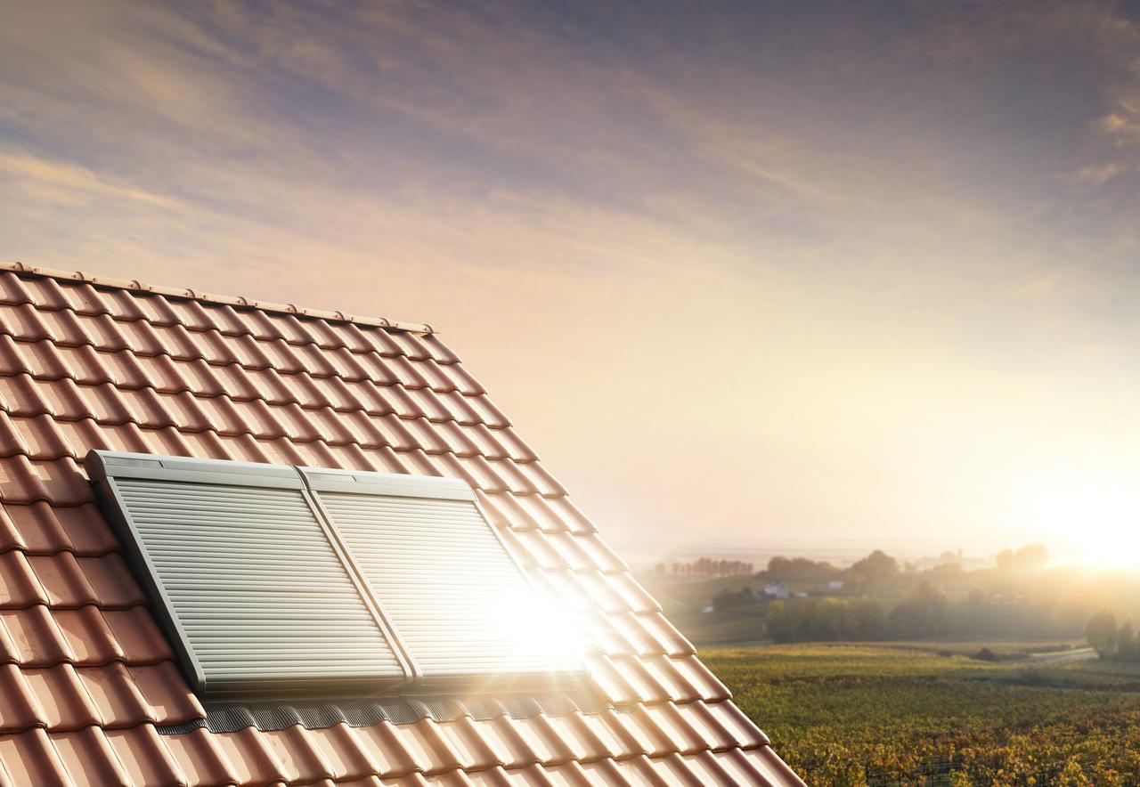 Rolety zewnętrzne blokują promienie słoneczne