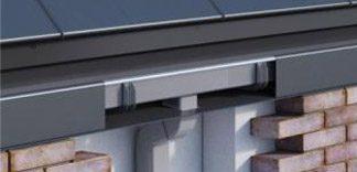 Bezokapowy system rynnowy może być montowany bezpośrednio w ociepleniu budynku. Dzięki temu idealnie dopsowuje się do pokrycia dachowego i elewacji spełniając wszystkie funkcjie systemu i jednocześnie pozostaje całkowicie niewidoczny.