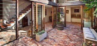 Podłoga z cegły klinkierowej