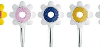 Nowa kwiatowa linia pryszniców marki GROHE