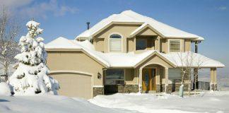 budowa domu zima